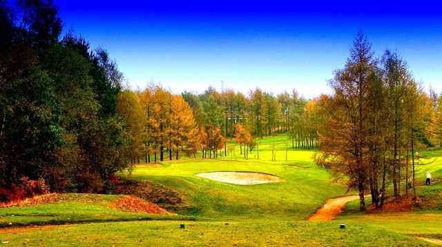 Tough par 3 at Ashton-under-Lyne Golf Club