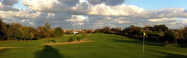Great shot from a green at Westgate & Birchington