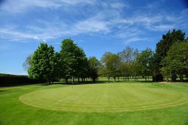 Stunning conditions at Shrewsbury Golf Club