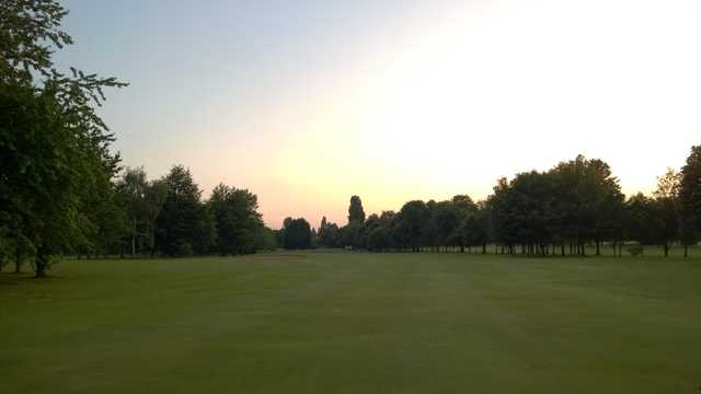 A view of 9th fairway at Shrewsbury Golf Club