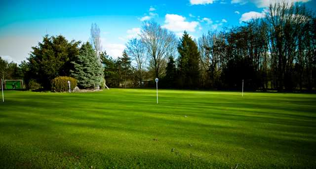 A view of the putting green at Panshanger Golf Club
