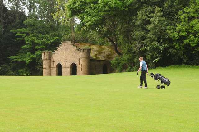Plenty of history, even on the course at Hall Garth