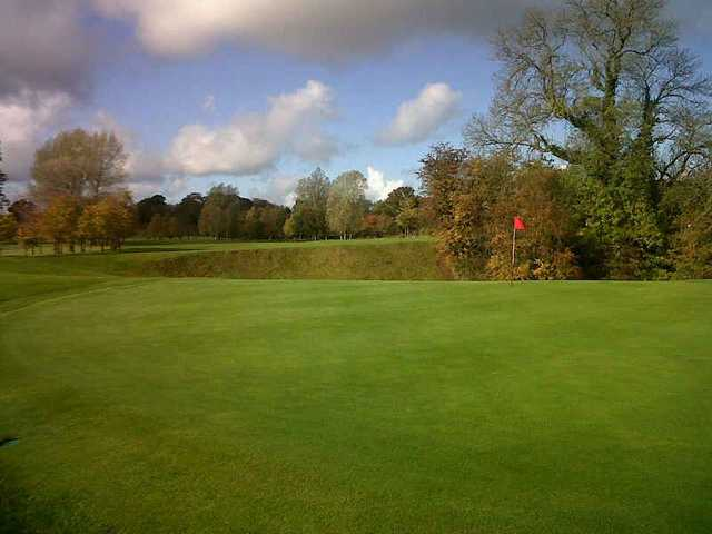 Receptive green on the 8th at Stone Golf Club