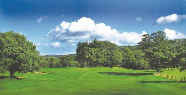 Fantastic shot on the 6th at Shipley Golf Club