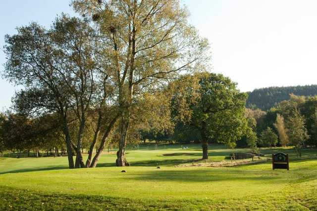 9th tee at Shipley Golf Club
