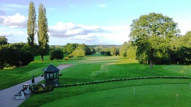 View of the 1st tee at Wlamley Golf Club
