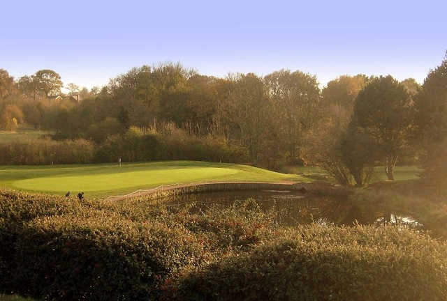 Stunning shot of the 5th at Walmley Golf Club