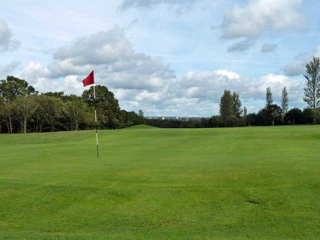 Good conditions on the 4th at Larkhall Golf Club