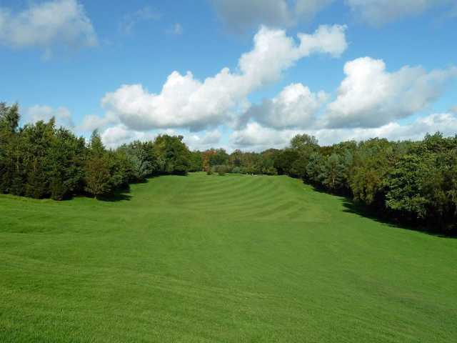 Stetching fairway on the 4th at Strathclyde Park
