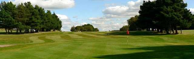 Great shot looking back up the 7th at West Bradford Golf Club