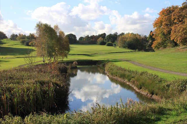 Stunning view from the 10th tee at Hawarden Golf Club
