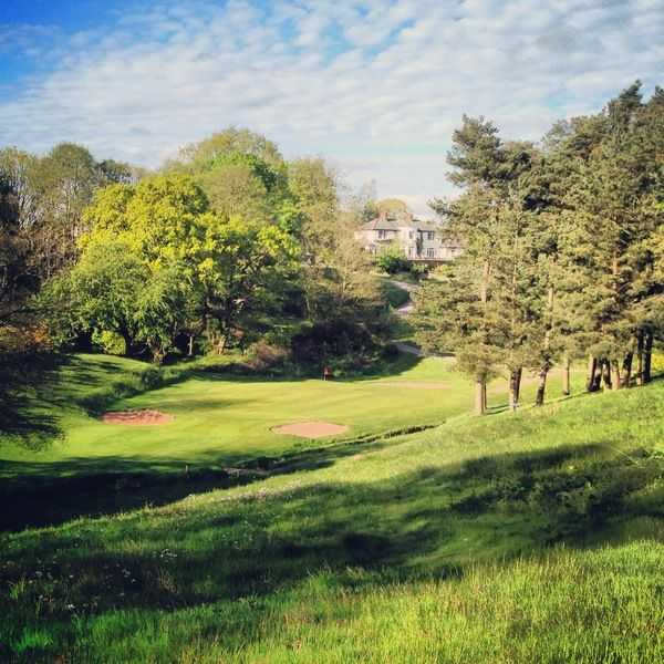 The challenging par 3 finish at Hawarden Golf Club