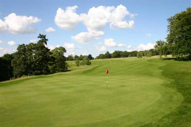 Great view of the top-class greens at Stoke Rochford