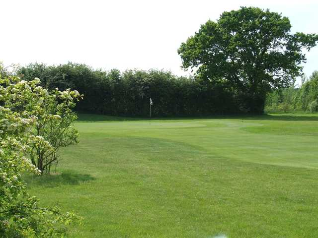 Great view of the well kept course at Silverstone Golf Club