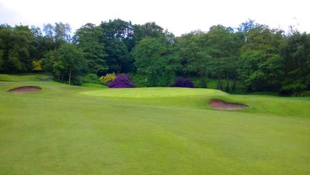 Great looking approach at Wrekin GC