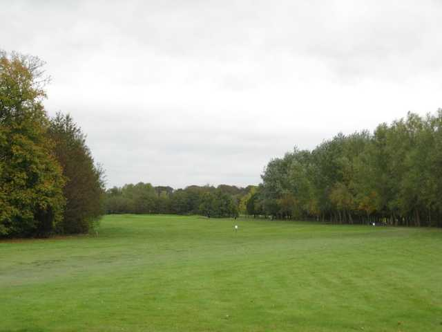 A look down the opening hole at Mersey Valley GCC