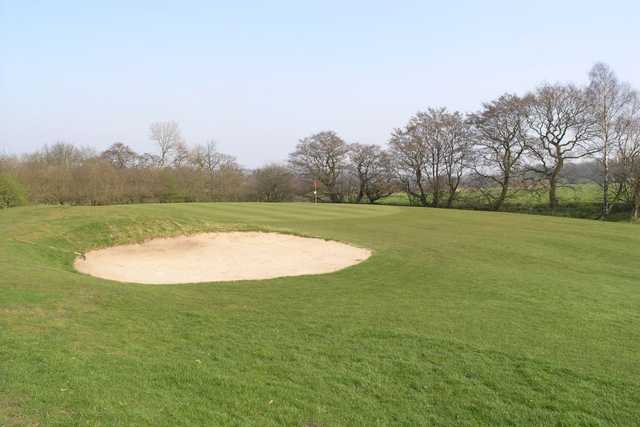 Greenside bunkers will test your approach-shot placement