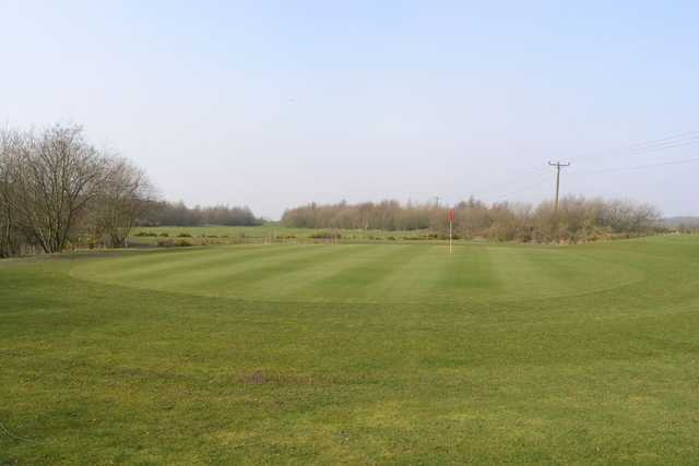 Greenside view at Berrington Hall Golf & Country Club