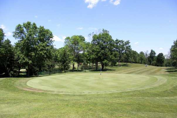 A view from Bridgeview Golf Course