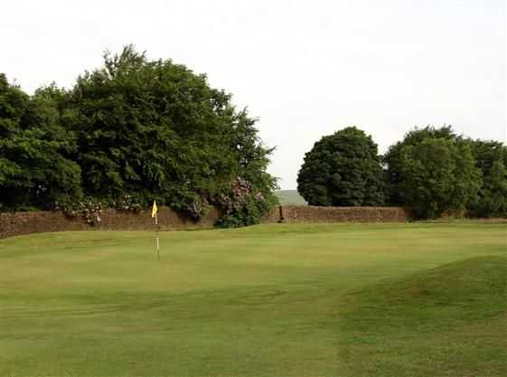 Fantastic view of the well-kept greens at Branshaw Golf Club