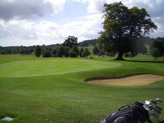 A look at the grounds of the Broome Park Estate from the 11th green.
