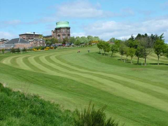 A look at the 9th hole at Craigmillar Park Golf Club