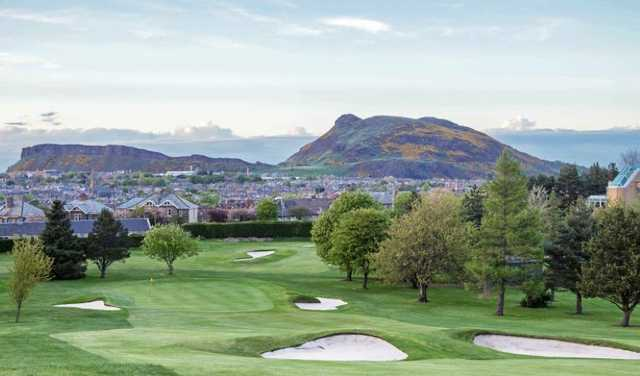A look at the 18th hole at Craigmillar Park Golf Club