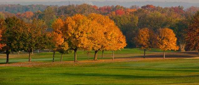 An autumn view from Hamilton Elks Golf Club