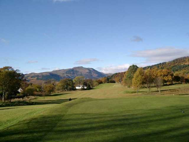 The 7th hole at Callander Golf Club