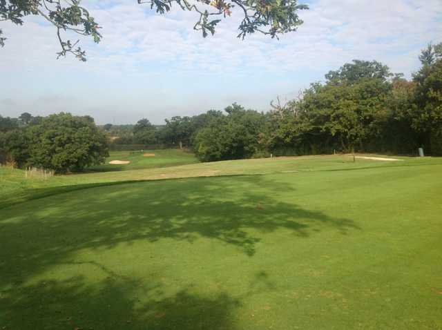 View of the 9th hole at Crews Hill Golf Club