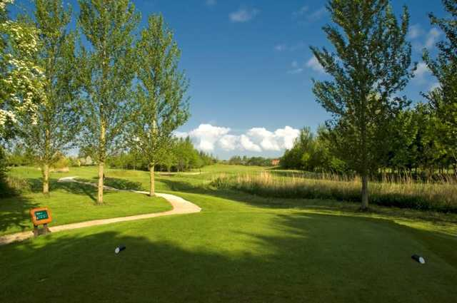 A view from the 15th tee at Waltham Windmill GC