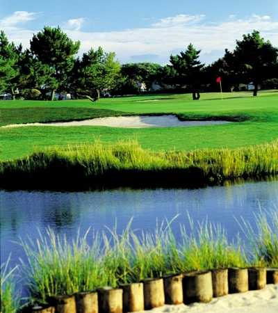 A view of hole  #3 from Brigantine Golf Links