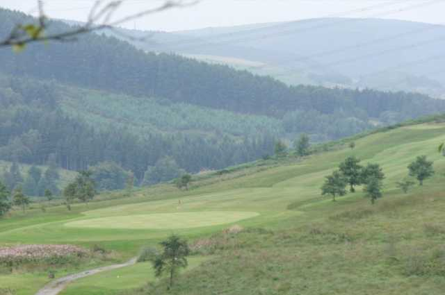 Great views of the valley and course at Maesteg Golf Club
