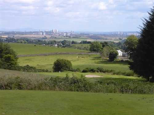View of the golf course and surrounds at Milngavie Golf Club
