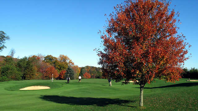 A view from Colts Neck Golf Club.