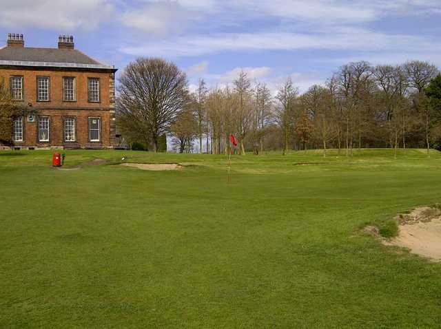 The Wakefield clubhouse overlooking the course
