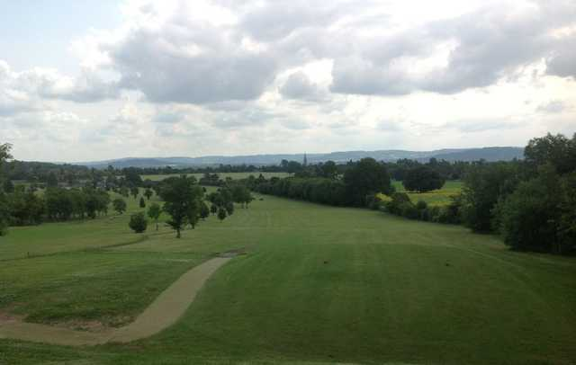 View down the 3rd fairway at Rodway Hill
