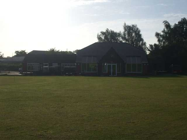 The clubhouse at Rodway Hill