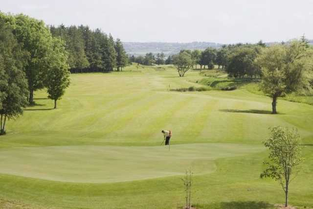 The undulating greens at Letterkenny will test your short game