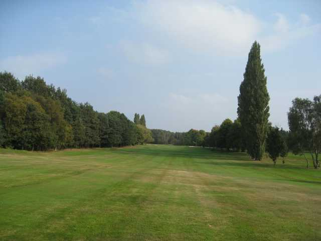 The beautiful 11th fairway at Walsall Golf Club