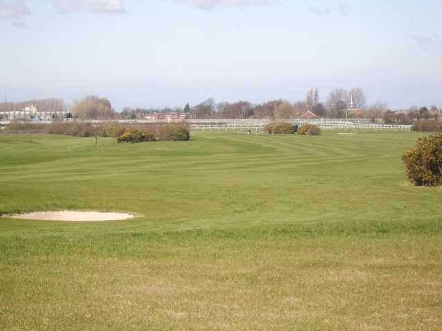 Looking over the 8th fairway at Aintree