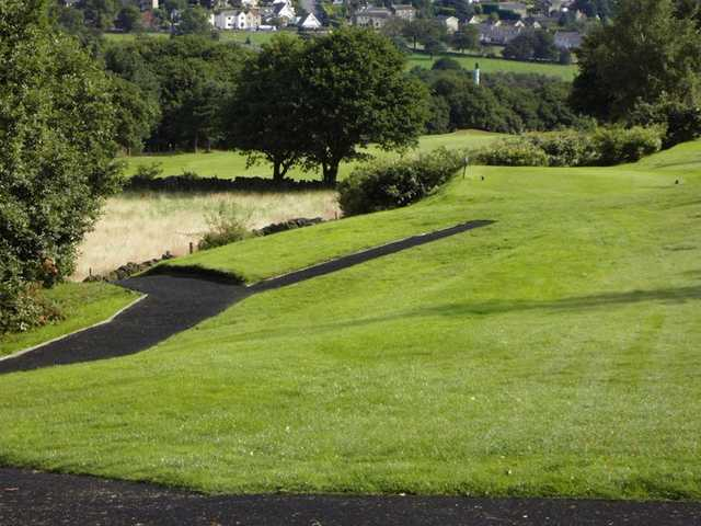 A view of the 5th fairway at Halifax Bradley Hall