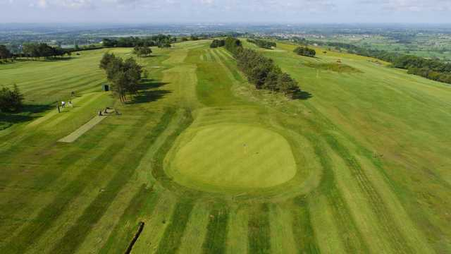 Aerial view of #6 at Longridge Golf Club