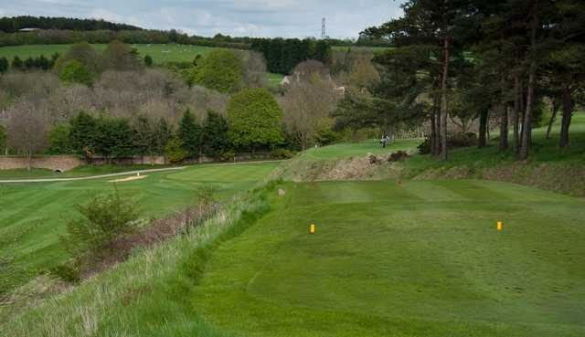 The 18th hole at Cirencester