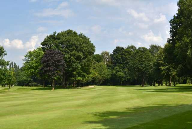 A view from the 7th fairway at Northenden Golf Club