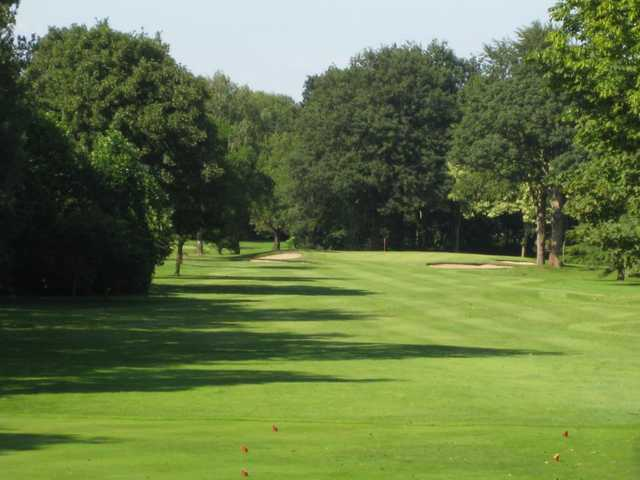 A look at the approach to the 10th at Northenden Golf Club