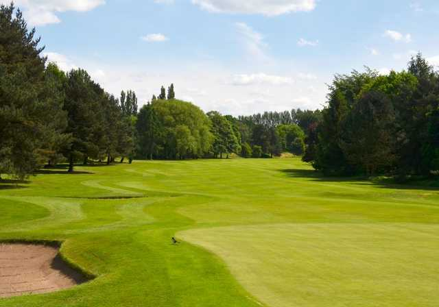A look at the tough 3rd hole at Northenden Golf Club