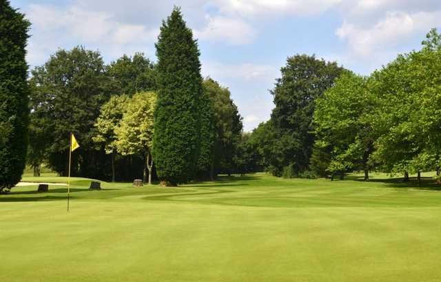 A look at the 8th green at Northenden Golf Club