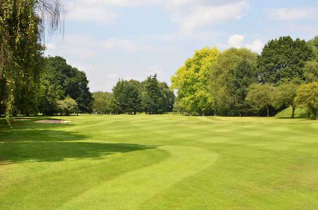 View of the stunning 2nd hole at Northenden Golf Club