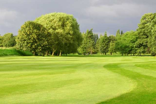 A look from the 6th fairway at Northenden Golf Club
